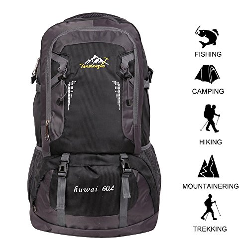 Climbing Bags 2018 Travel Backpack Waterproof Large Capacity Breathable Nylon Outdoor Mountaineering Bag Diamond Shaped Folding Backpack Clear And Distinctive