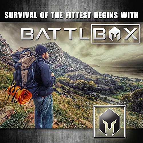 Battlbox Happy Camper Tent Fan And Light Led Camping