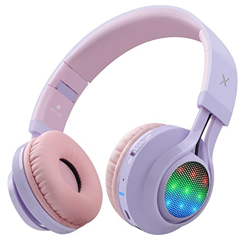 XHN Gaming Headset with Mic for PC PS4,Over Ear Headphones for Studio Monitoring and Mixing Sound Isolation for Adults Kids Childs Teens Heavy Deep Bass Adjustable
