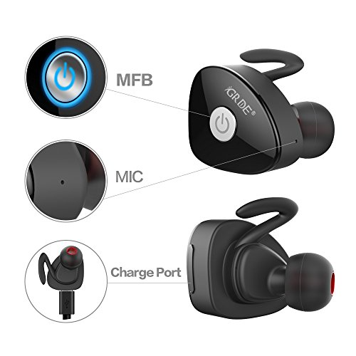 Earphones & Headphones I7 I7s Tws Wireless Bluetooth 5.0 Earphones In-ear Earphone Single Earbuds Headset With Mic For Iphone Samsung Huawei And Tables Good Companions For Children As Well As Adults Bluetooth Earphones & Headphones