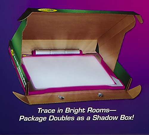 Crayola Light Up Pink Tracing Pad Coloring Board For Kids Gifts Toys For Girls