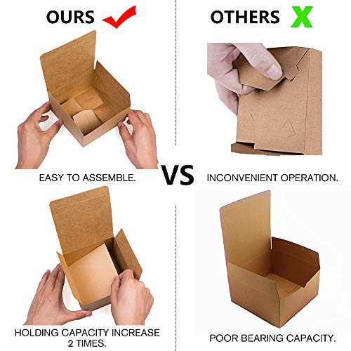 5edc4cd0fe1 Gift Boxes Premium ValBox Pack of 12 gift boxes in brown paper with ...