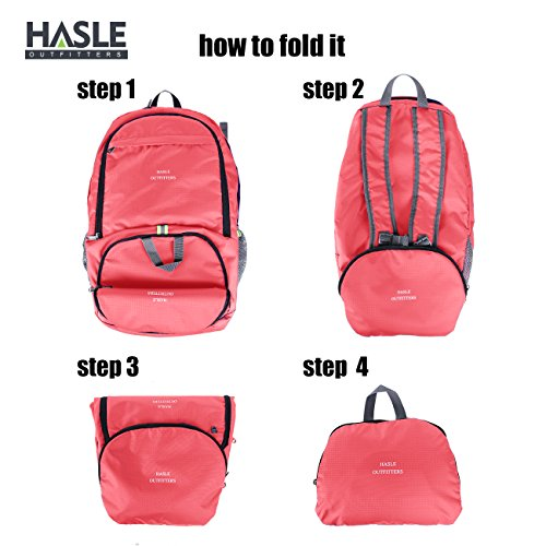 Hasle Outfitters Travel 40L Hiking Backpack Durable Waterproof and Lightweight