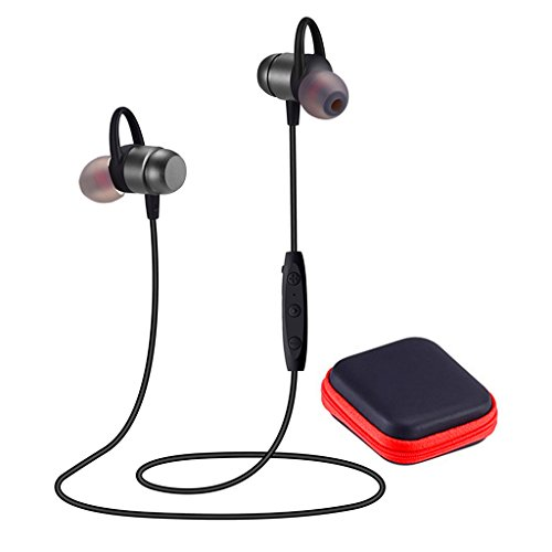 Bluetooth Headphones 4.2 Wireless Sport Headphones HD Anti-perspiration Stereo Earphones …