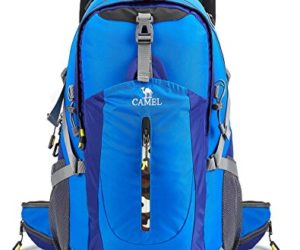 CAMEL CROWN 40L Hiking backpack Water Resistant Outdoor Sports Travel  Backpack w … 10b9f7d41590b