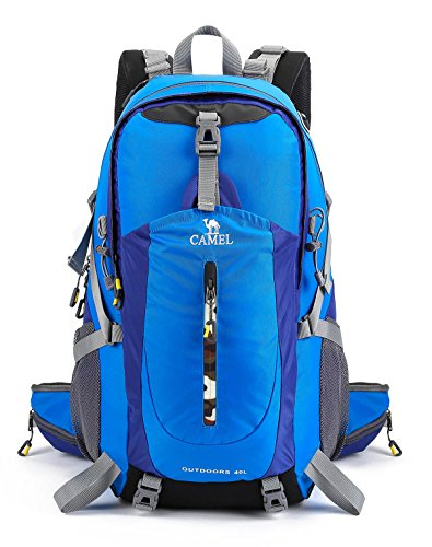 00e847456fb1 CAMEL CROWN 40L Hiking backpack Water Resistant Outdoor Sports ...