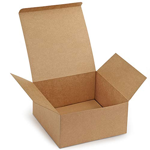 d40450f2dce Gift Boxes Premium ValBox Pack of 12 gift boxes in brown paper with lids  for …