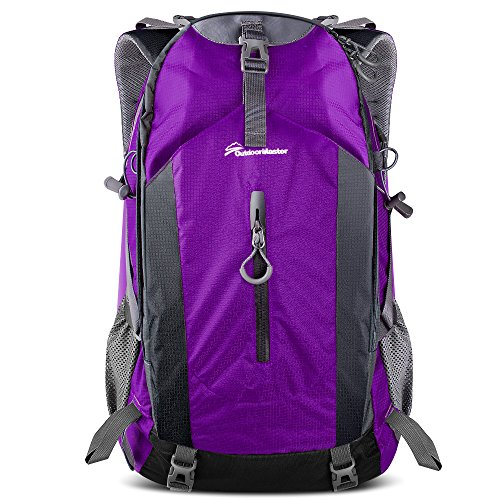 b7e975ad69 OutdoorMaster Hiking Backpack 50L – Hiking and travel backpack with  waterproof rain …