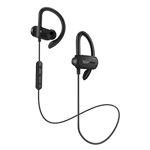 ccba18e6b53505 Waterproof: It can effectively prevent rain and sweat from damaging the Bluetooth  wireless headset. 2.Suitable for sport: Ear contour type design, ...