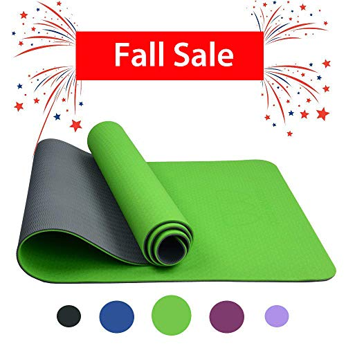 select for official big sale best collection Yoga Fitness & Workout Yoga Mat Christmas Green White ...