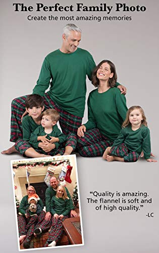 acb9414aca Make your family party a festive and comfortable party with this set of  flannel plaid pajamas for the whole family. This is a great way to get your  entire ...